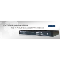 Acafa 8口CAT5 IP KVM��X切�Q●器
